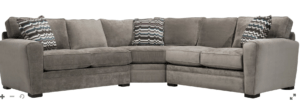 Artemis 3 PC Microfiber Sectional