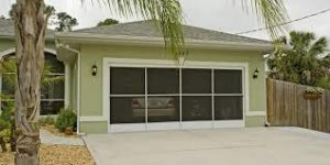 Eze breeze garage door enclosure