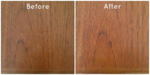 Watco Teak Oil Before and After