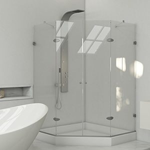 VIGO Gemini 42.125 Frameless Shower Enclosure Review