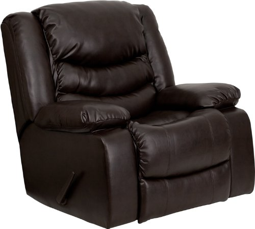 Flash Furniture Leather Level Rocker Recliner Review