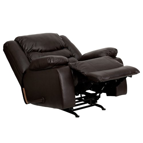 Flash Furniture Plush Rocker Recliner for Back Pain
