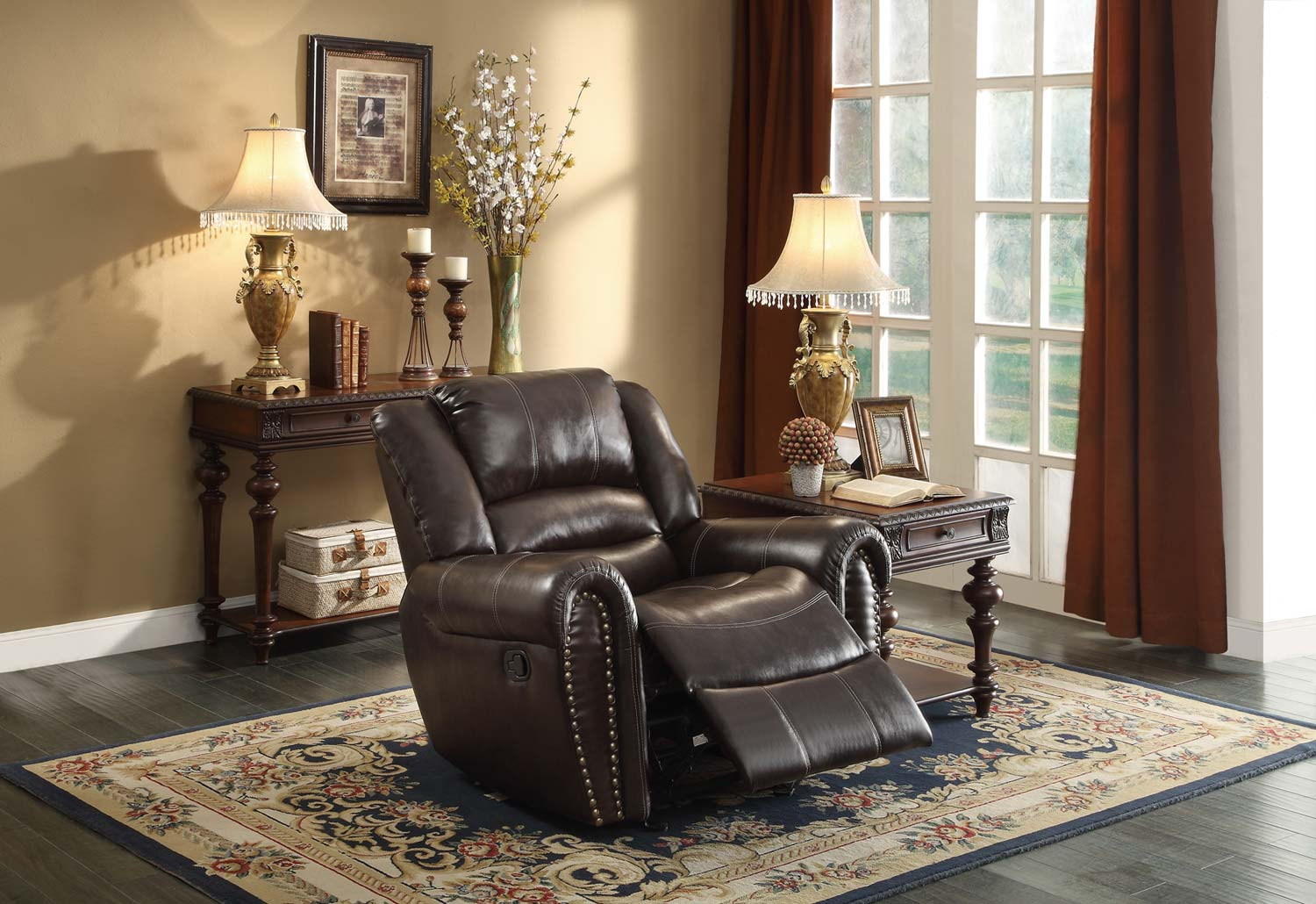 Homelegance 9668 Back Pain Recliner