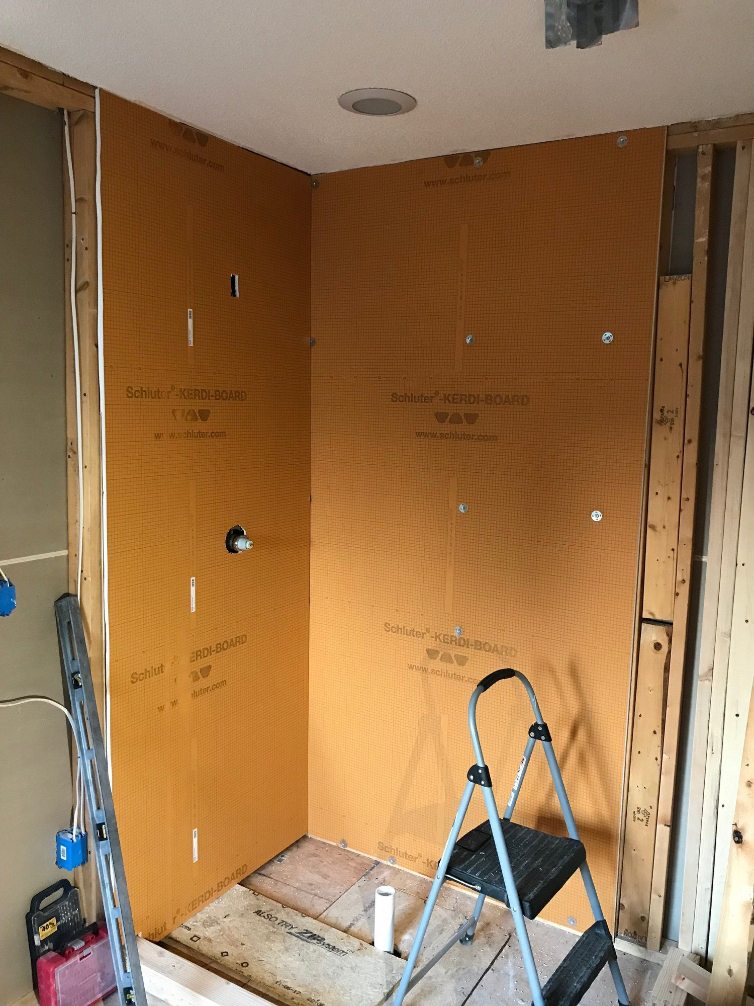 Schluter Shower System Installation