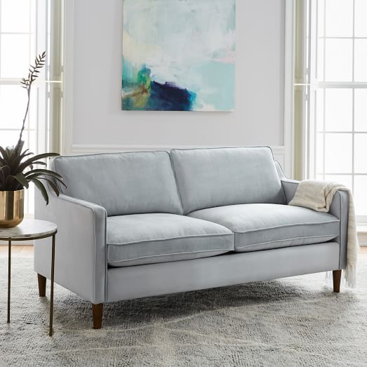 west elm loveseat