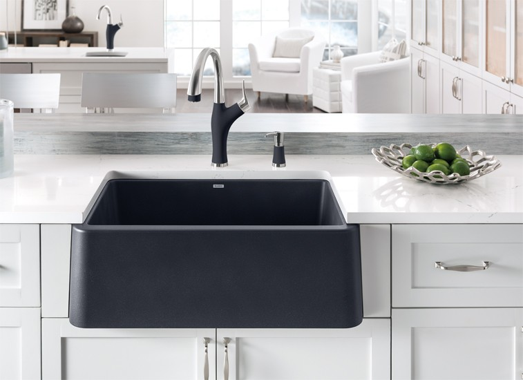 blanco farmhouse sink