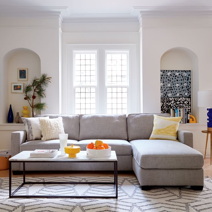 best coffee table for sectional with chaise