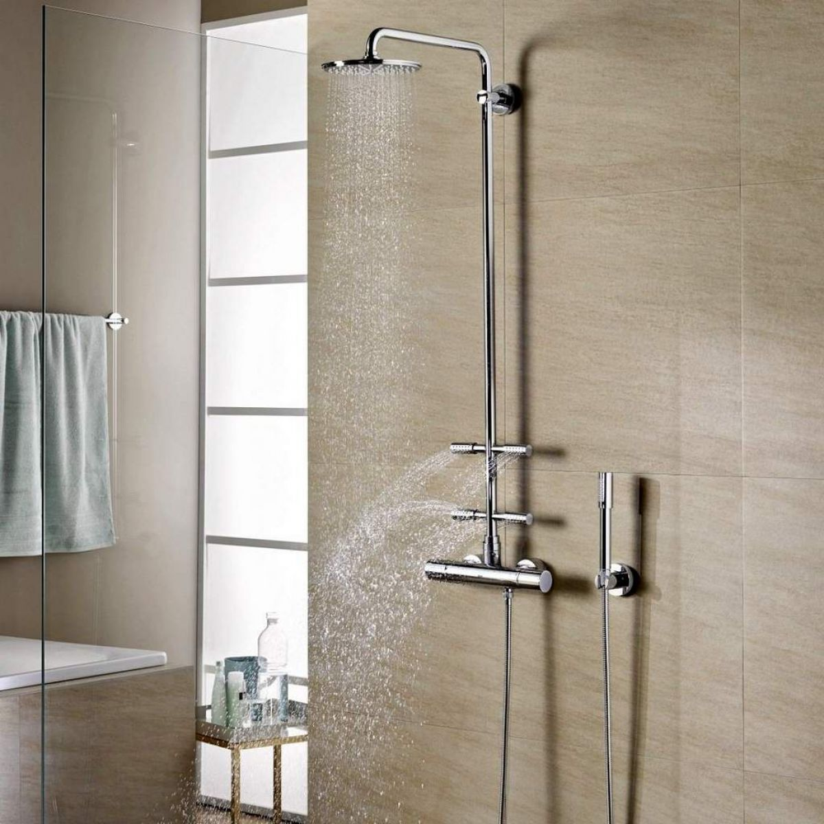 grohe shower system review