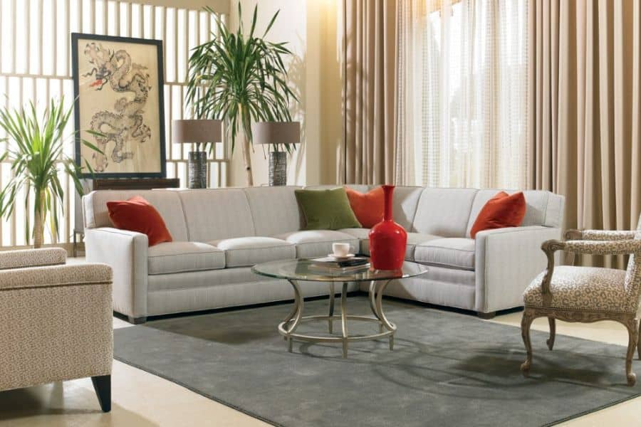 Sectional sofa by Sherill