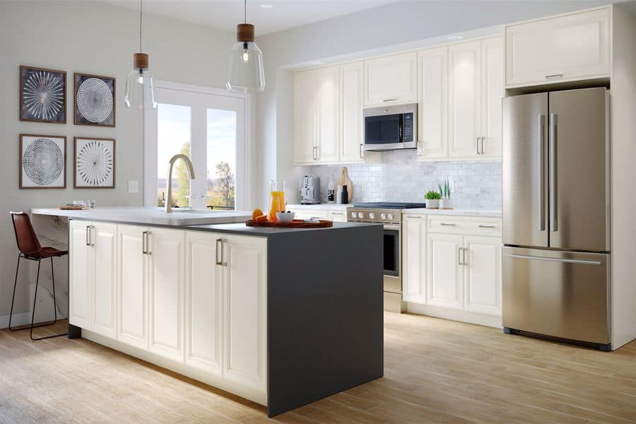Kitchen with Allen Roth furnishings