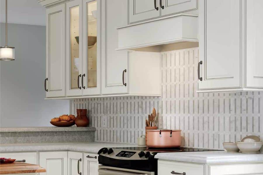Kitchen with Allen Roth products