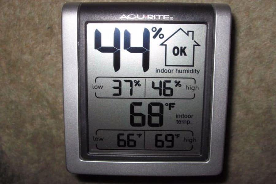 Digital humidity monitor