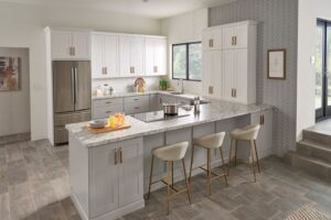 Kitchen with Wolf cabinets