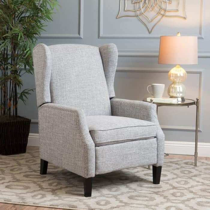 Pier 1 traditional wingback recliner