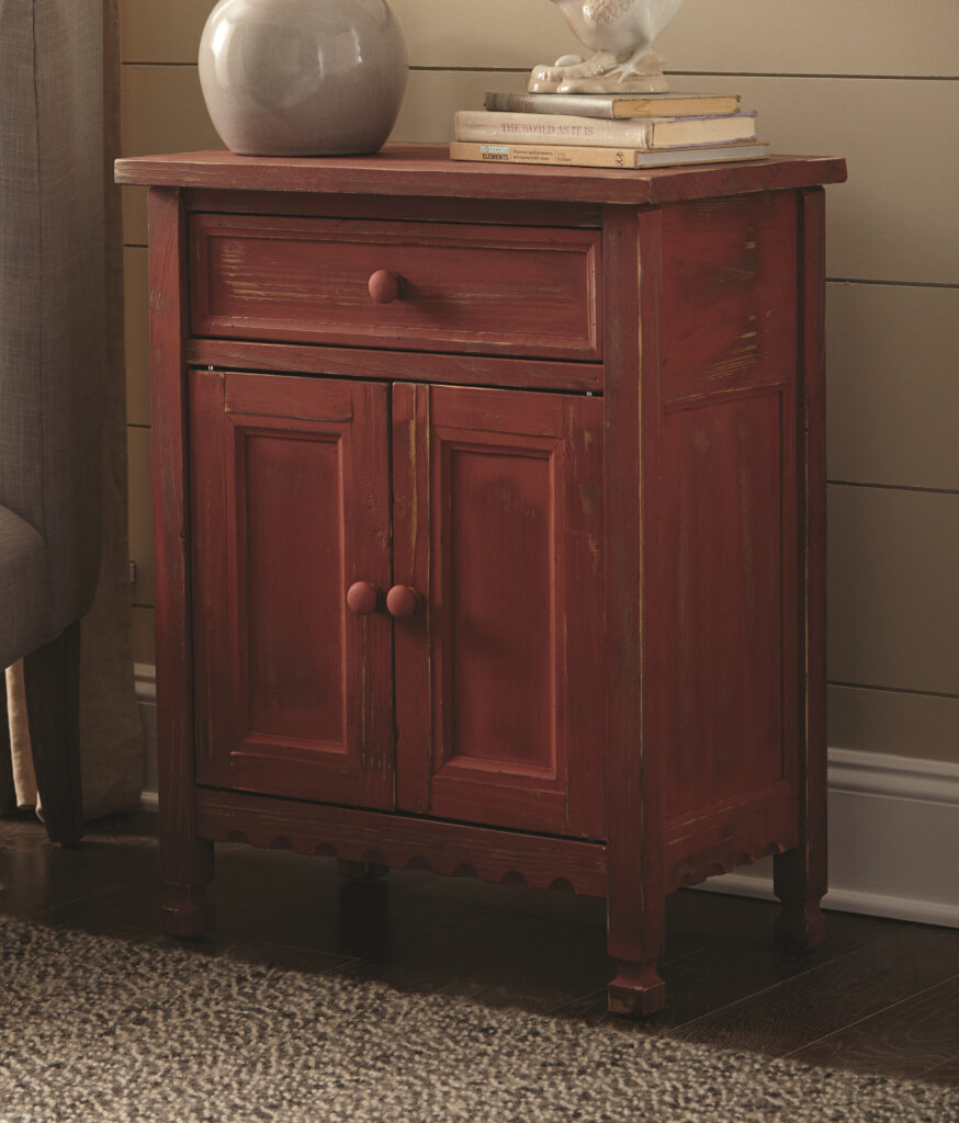 Country Cottage Accent Cabinet