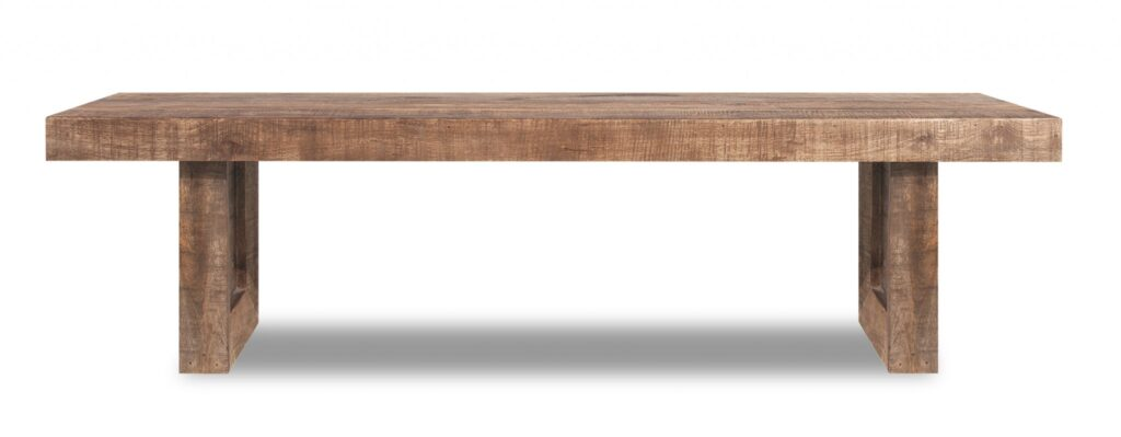 Pier 1 Solid Mango Wood Dining Bench